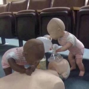 CPR, you're doing it wrong.