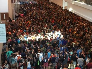 Crowds at Gen Con 2016