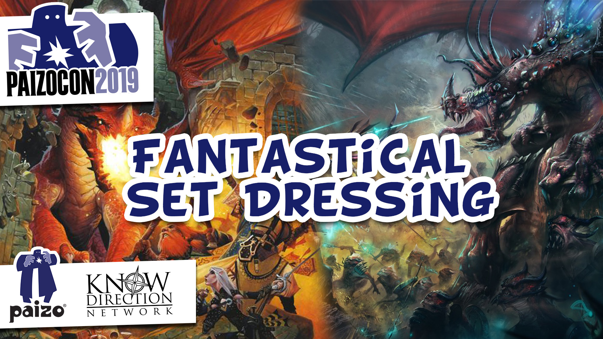 PaizoCon 2019 - Fantastical Set Dressing