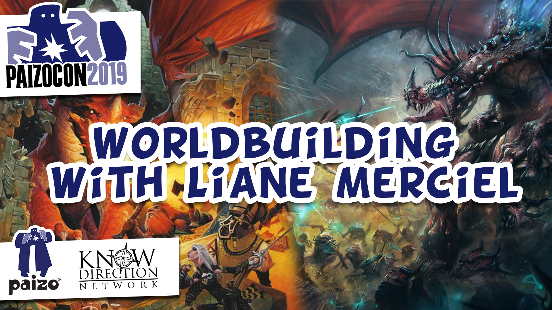 """Worldbuilding with Liane Merciel"