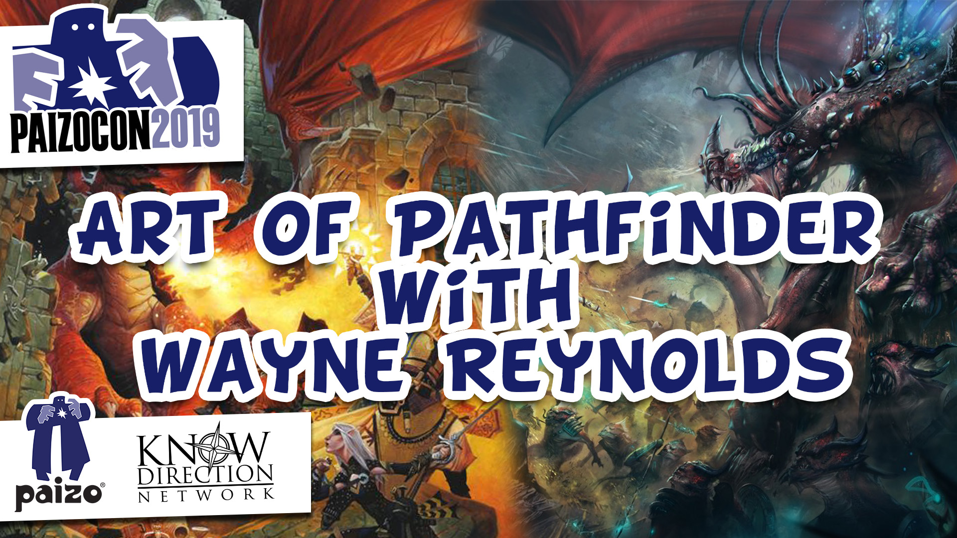 Art of Pathfinder with Wayne Reynolds