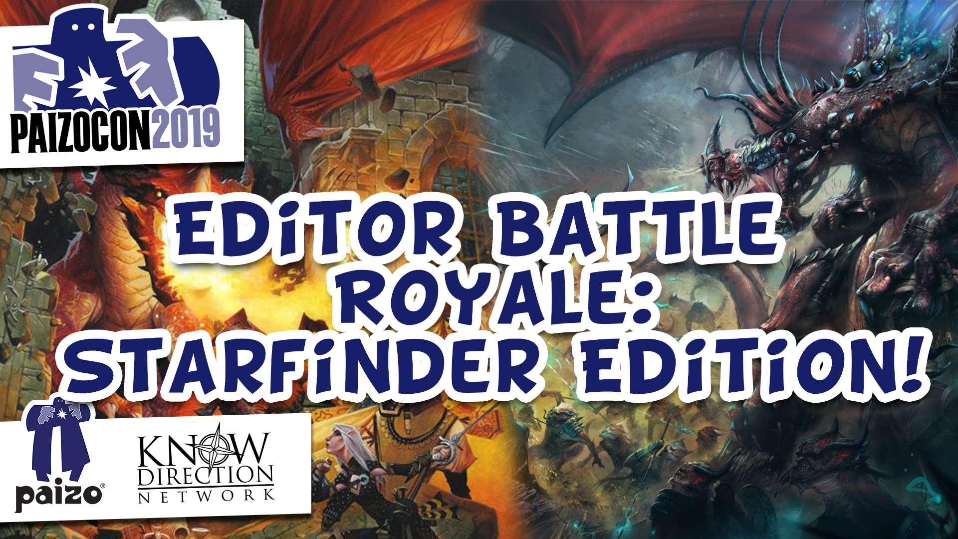 Editor Battle Royale: Starfinder Edition!