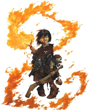 iconic kineticist yoon - copyright Paizo