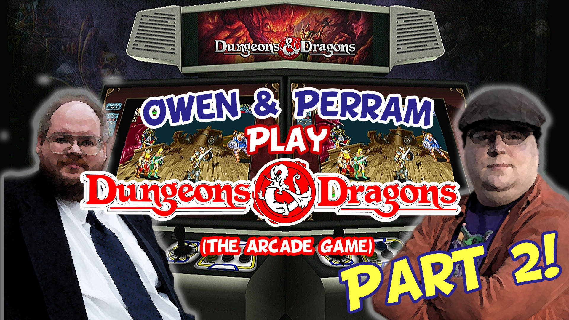 Owen & Perram Play Dungeons & Dragons (The Arcade Game) Part 2!