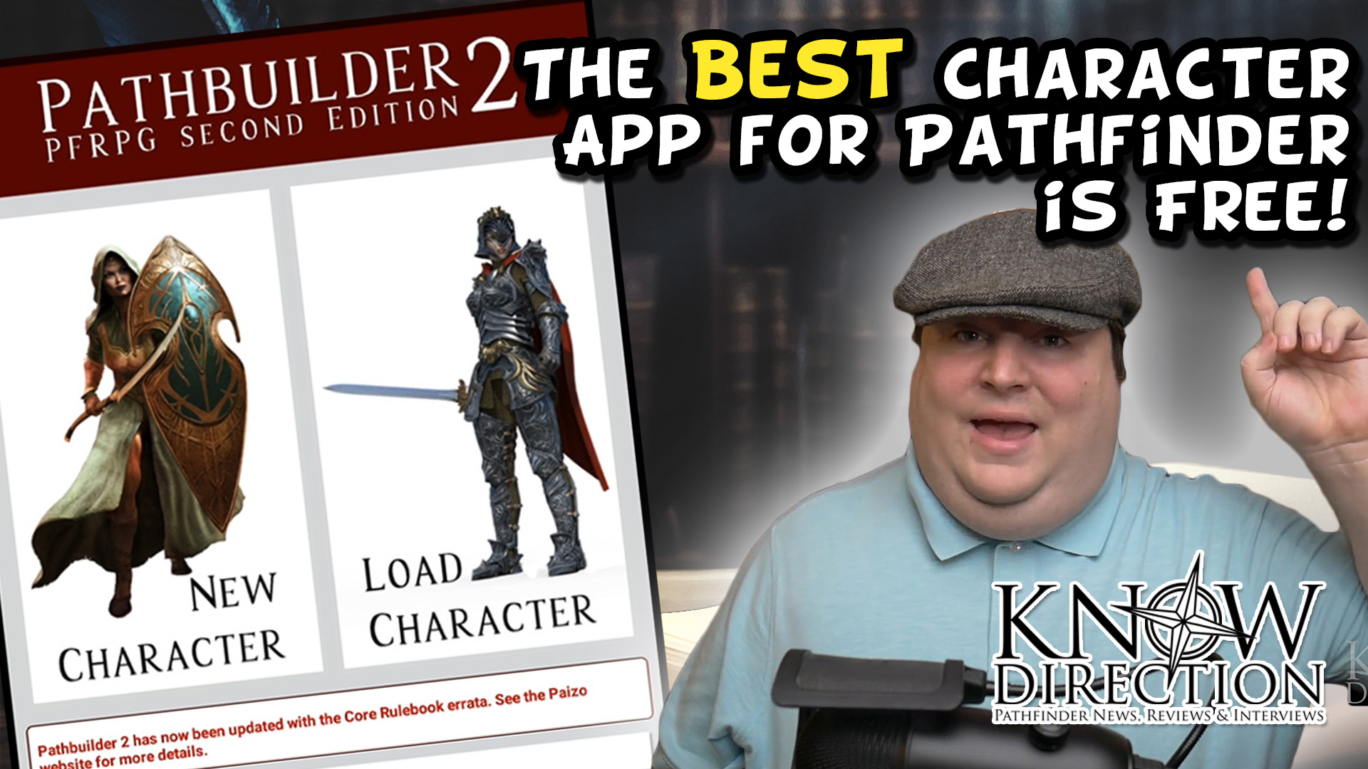 The Best App for Pathfinder is Free! - Pathbuilder 2e Review