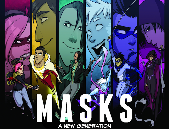 MASKS, Magpie Games