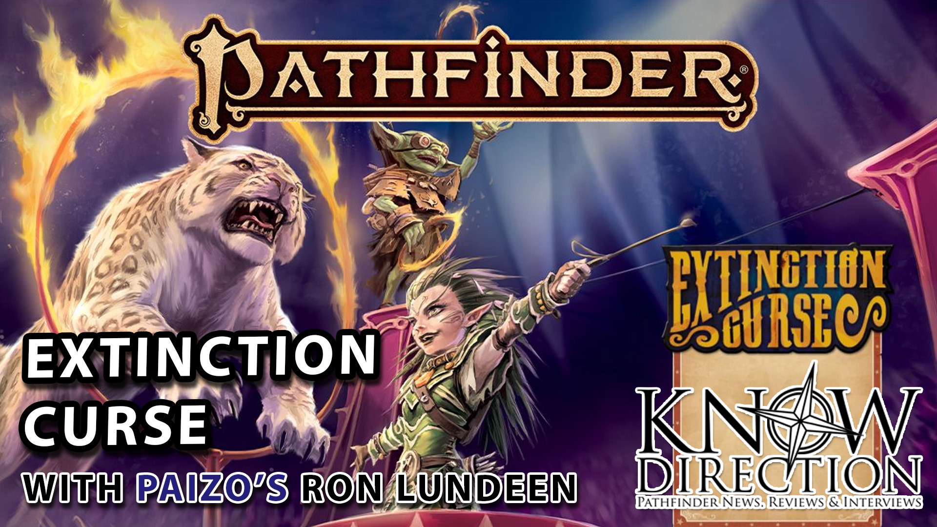 Extinction Curse with Paizo's Ron Lundeen