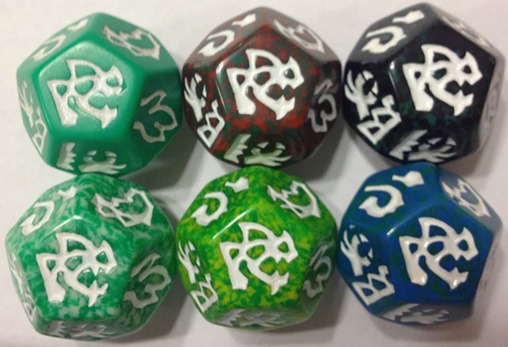 dragon dice - green dragons