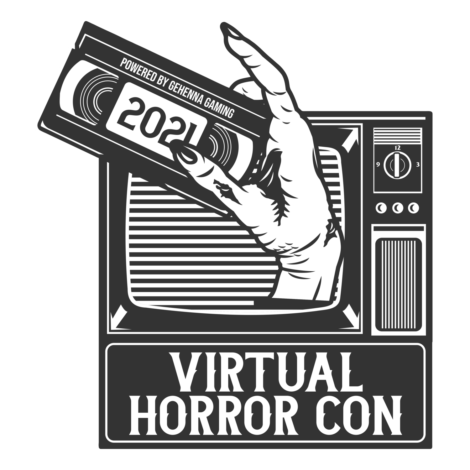 Virtual Horror Con 2021 logo
